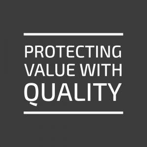 Logo, protecting values